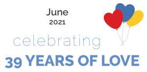 39 Years of Love June 2021