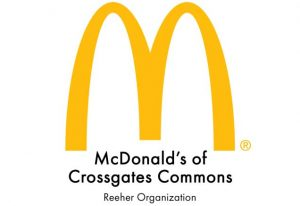 McDonald's Crossgates Commons logo